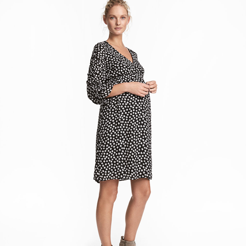 MAMA Patterned Dress