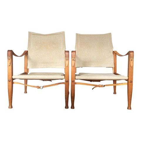 Kaare Klint Safari Chairs