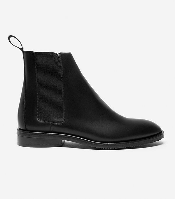 Women's Chelsea Boot by Everlane in Black, Size 9