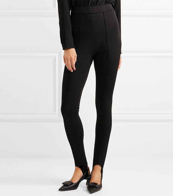 Marni Tech-Jersey Stirrup Leggings