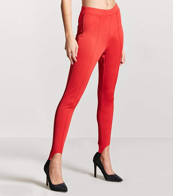 Forever 21 Pintucked Stirrup Leggings