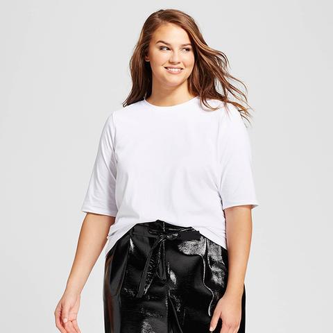 Short Elbow Sleeve T-Shirt