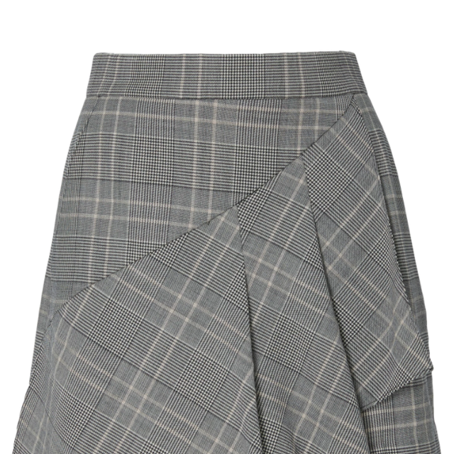 Jasper Suiting Wool-Blend Skort