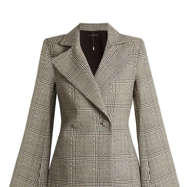 Boycott Prince of Wales-checked wool jacket