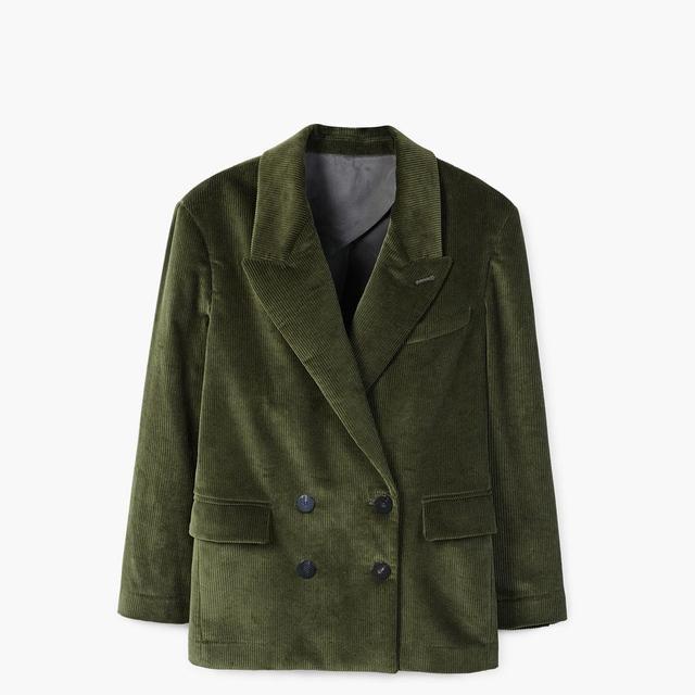 Oversize corduroy blazer