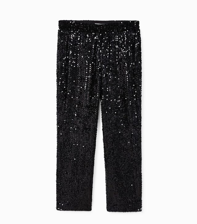 Mango Sequined Trousers