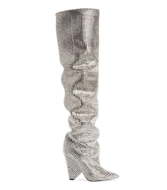 Niki Crystal Embellished Boot