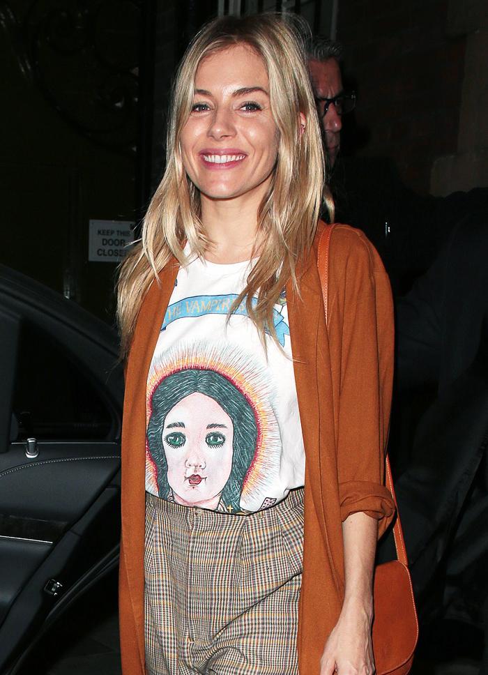 Vampire's Wife T Shirt: Sienna Miller
