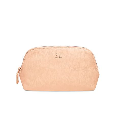 Grainy Leather Cosmetic Case