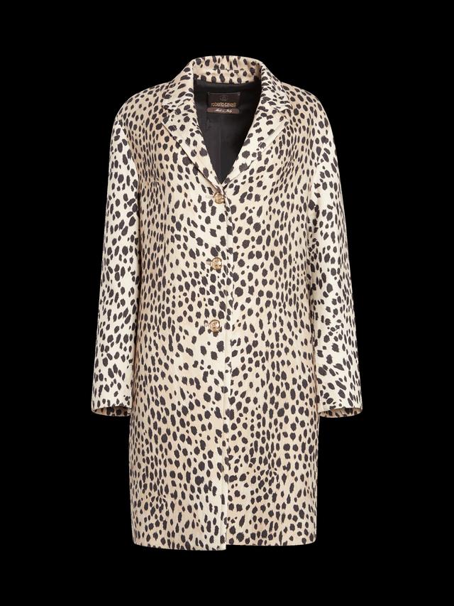 Roberto Cavalli Animalier Coat