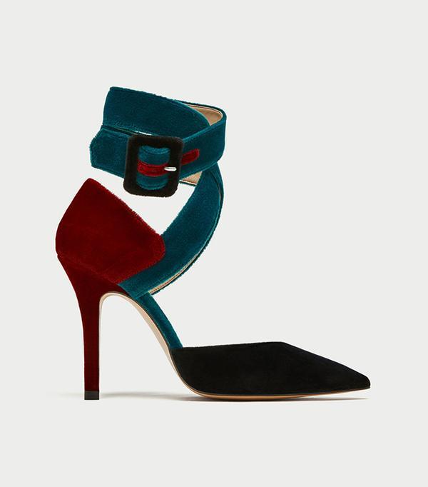 10 Things I'm Throwing Away Before December 31, Zara Tied High Heel D'Orsay Shoes