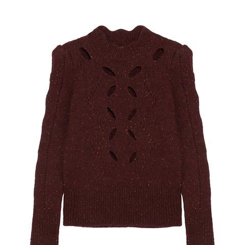 Elea Cutout Knitted Sweater