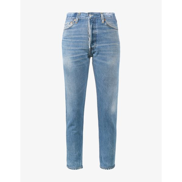 10 Things I'm Throwing Away Before December 31, Re/Done High-Rise Cropped Jeans