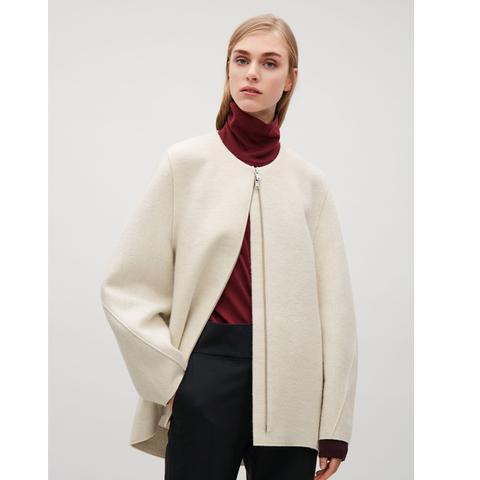 Wool Cocoon Jacket