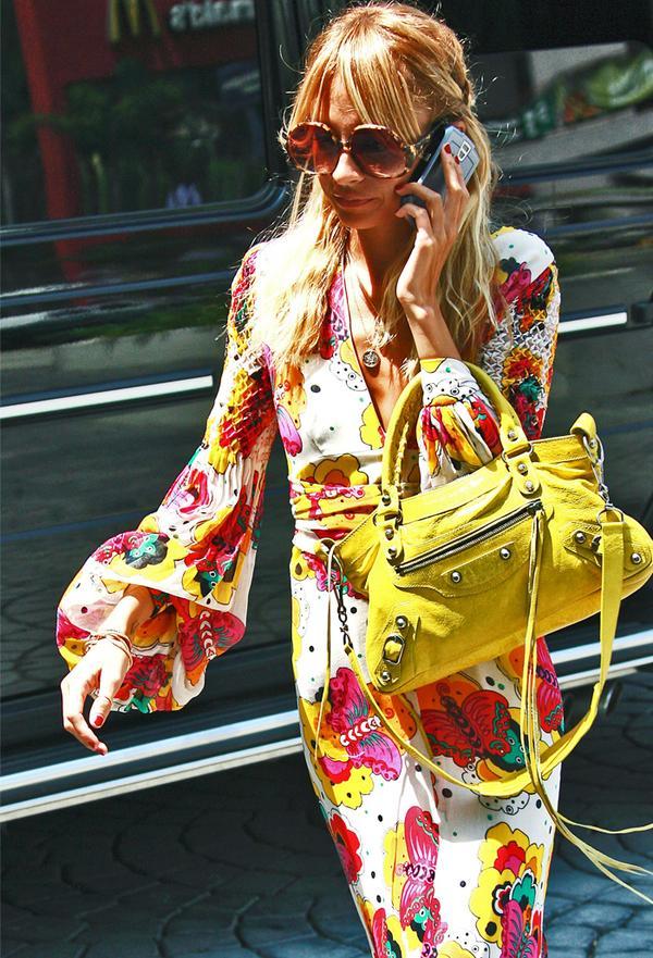 Fashion status items: Balenciaga Lariat bag