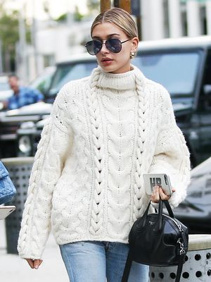 The Shocking Denim Trend Hailey Baldwin Just Wore With Ankle Boots