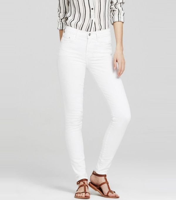 Best High-Waisted Skinny Jeans: Citizens of Humanity Rocket High Rise Skinny in White