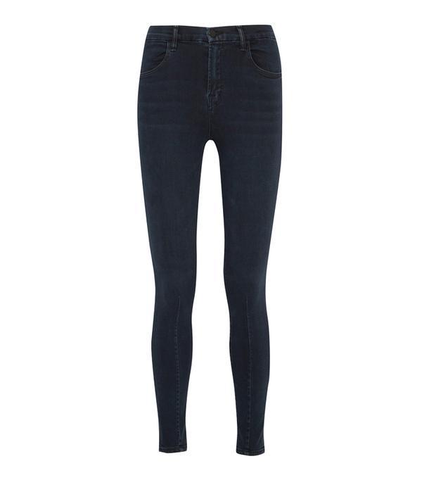 Best High-Waisted Skinny Jeans: J Brand Maria High-Rise Skinny Jeans