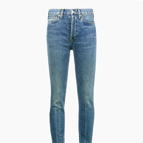 Originals High-Rise Ankle Cropped Jeans