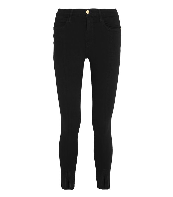Best High-Waisted Skinny Jeans: Frame Le High Skinny Jeans