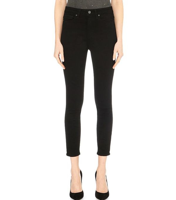 Best High-Waisted Skinny Jeans: Paige Denim Margot Ultra-Skinny High-Rise Cropped Jeans
