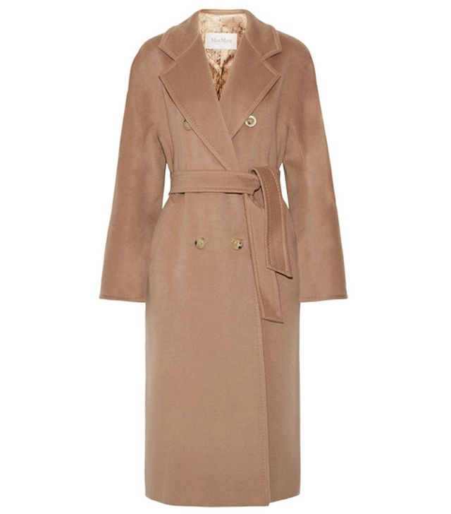 Max Mara Madame Oversized Wool and Cashmere-Blend Coat