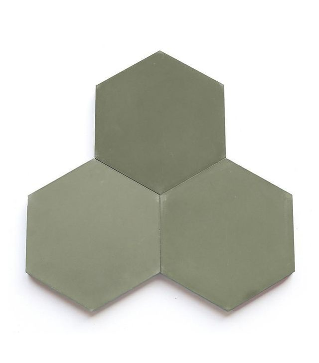 Clé Tiles Encaustic Solix Hex Tile