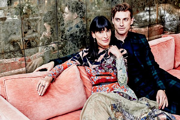 Athena Calderone and Jeremiah Brent