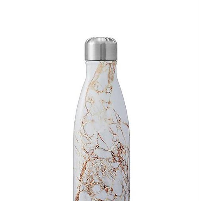 Elements 17oz Water Bottle in Metallic Gold.