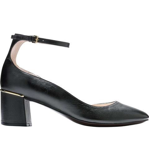 Warner Ankle Strap Pump