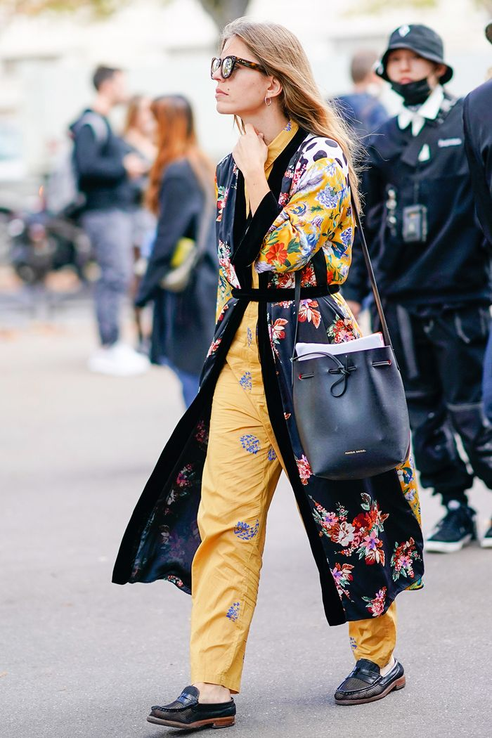 robe coat street style