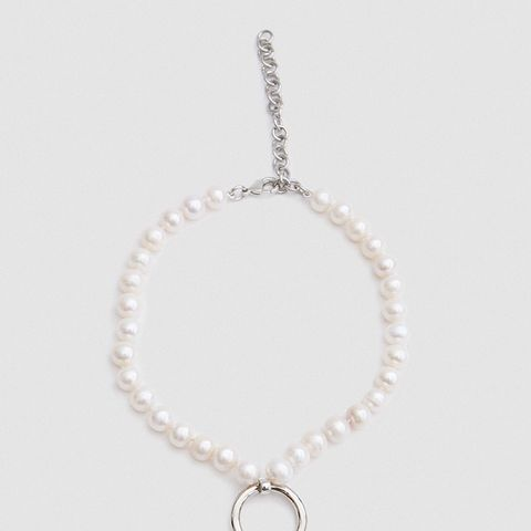 Robbe Choker in White Pearl