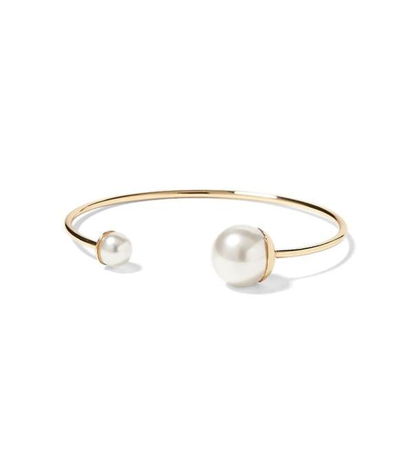 modern pearl bracelet