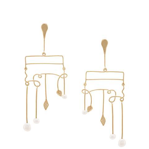Sirocco Pearl Earrings