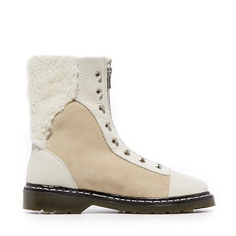 Dana Shearling Booties