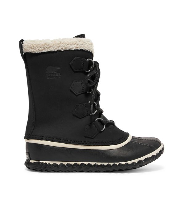 Caribou Slim Waterproof Nubuck And Rubber Boots