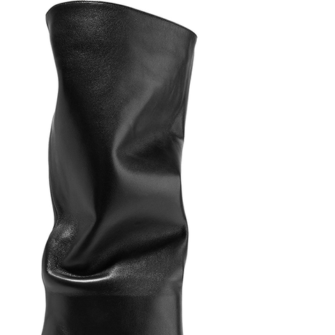 Laura Leather Knee Boots