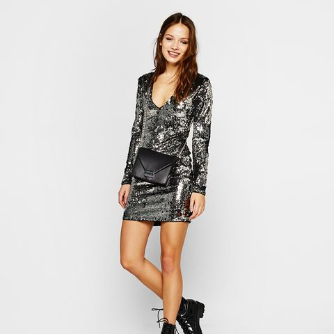 Sequinned Dress