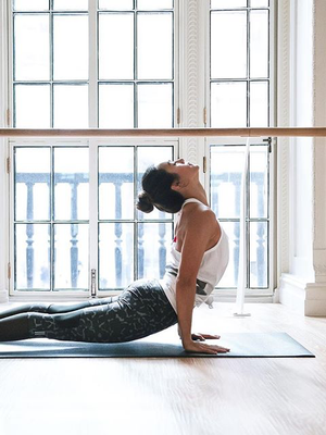 """Do This 15-Move Yoga Flow Before Bed for the """"Best Night's Sleep of Your Life"""""""