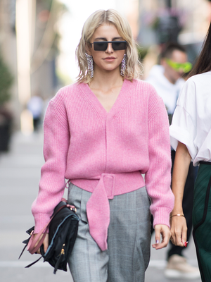 21 V-Neck Sweaters You Can Wear on Repeat
