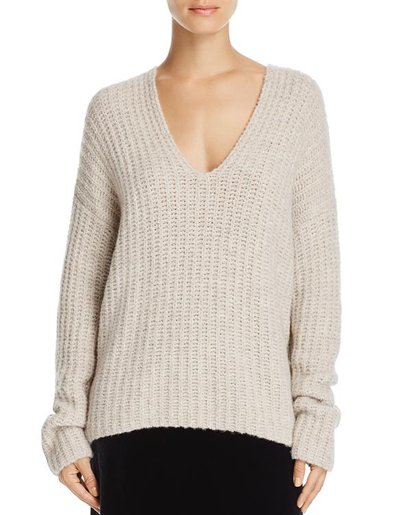 Cashmere Blend V-Neck Sweater