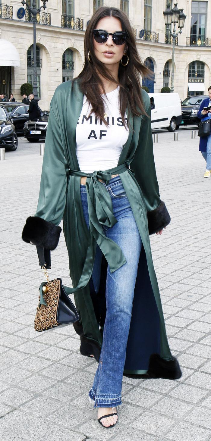 Emily Ratajkowski Feminist T-Shirt
