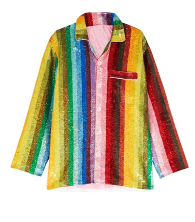 Best rainbow sequins: Ashish shirt