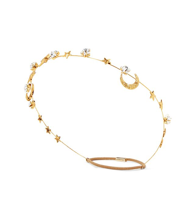 Best bridal hair accessories: Jennifer Behr Gold Plated Swarovski Crystal Head Band