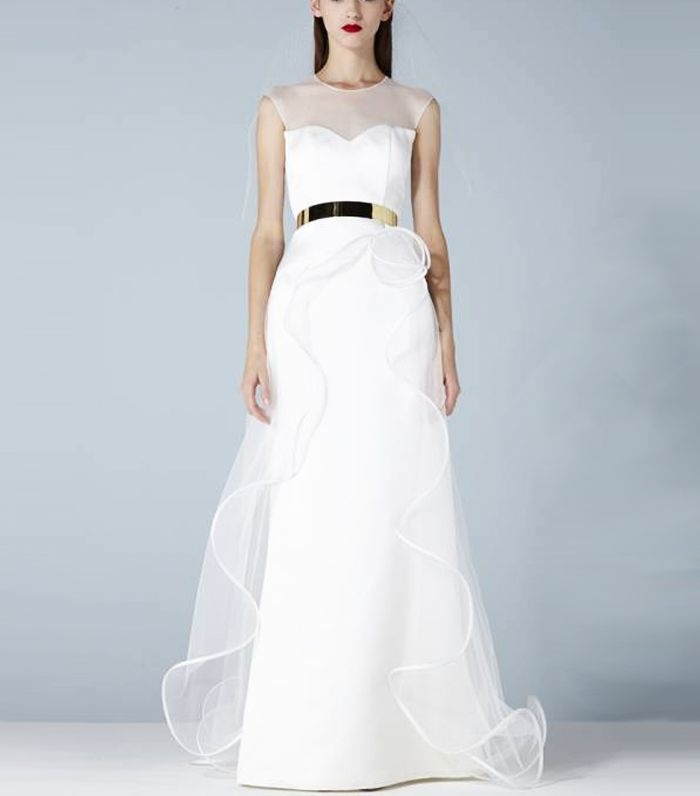 11 French Wedding Dress Brands for the Chicest Bridal Looks | Who ...