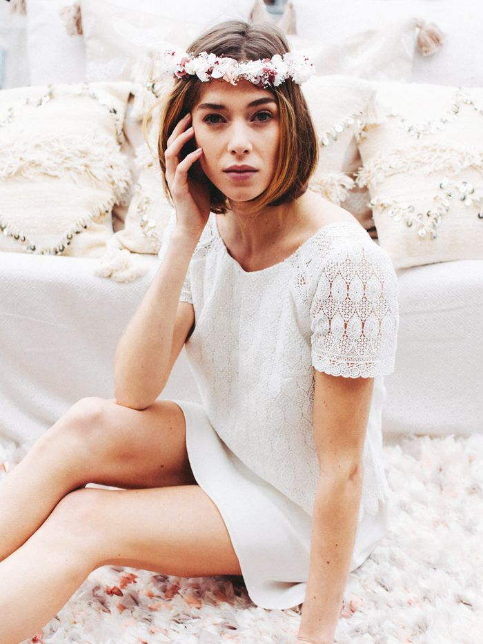 11 French Wedding Dress Brands for the Chicest Bridal Looks   Who ...