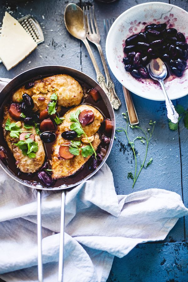 This chicken breast recipe from Playful Cooking will blow you away, and not just because it's simple enough to make even if you only have one hour to work with. Dunked in a caramelized...
