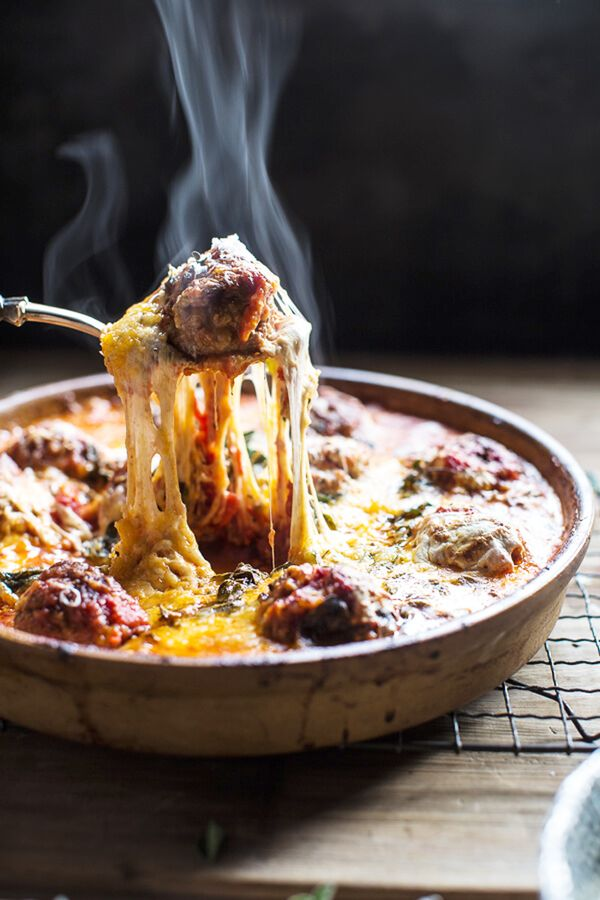 Taking one bite out of these simple baked Italian oregano meatballs brought to us by Half Baked Harvest will prove that your hard work in the kitchen paid off. Cheesy, satisfying, and full of...