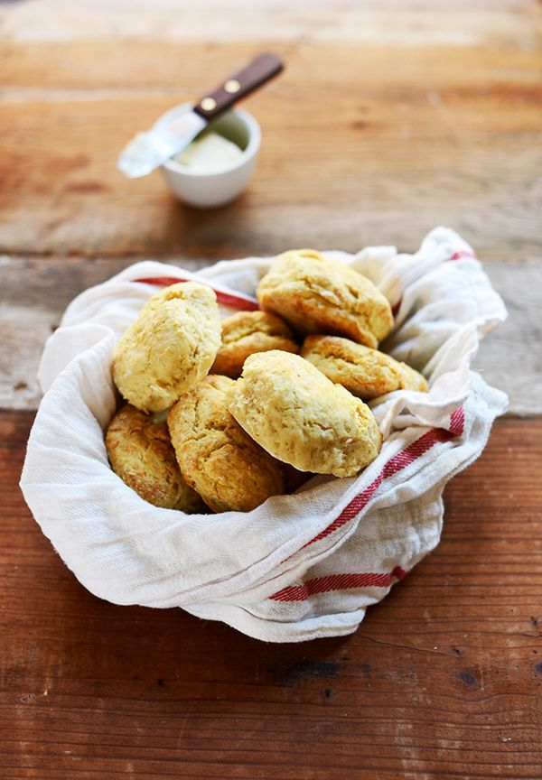 These perfectly golden, flaky biscuits taste just like as rich and buttery as the traditional recipes, though this one from Minimalist Baker is dairy-free so it'll satisfy your...