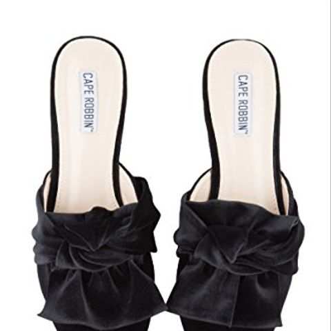 Women's Bow On Me Pointed Toe Flat